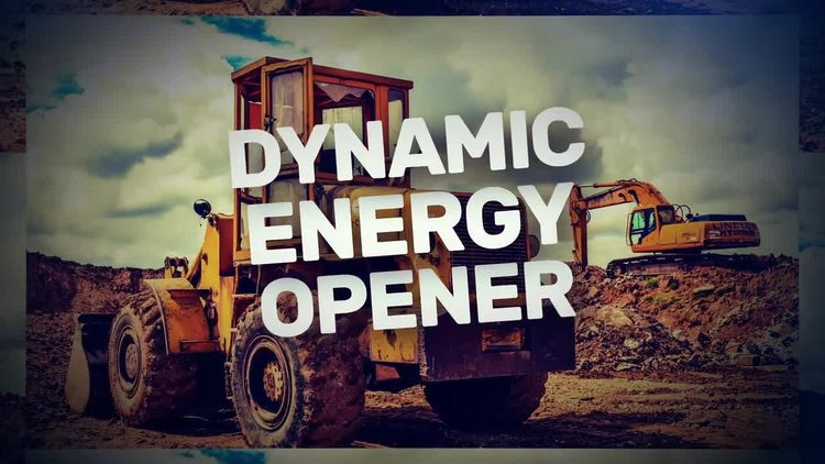 Dynamic Energetic Opener: After Effects Templates