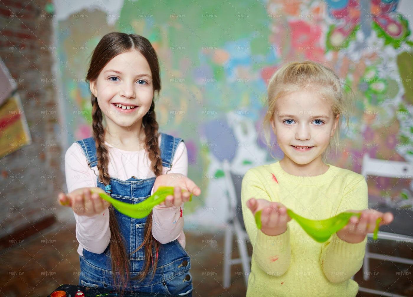 Girls Having Fun: Stock Photos