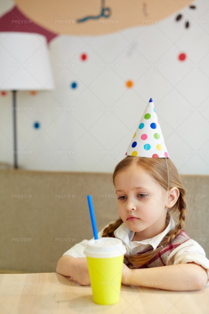 Birthday Without Friends: Stock Photos