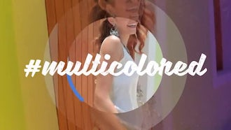 Multicolored: After Effects Templates