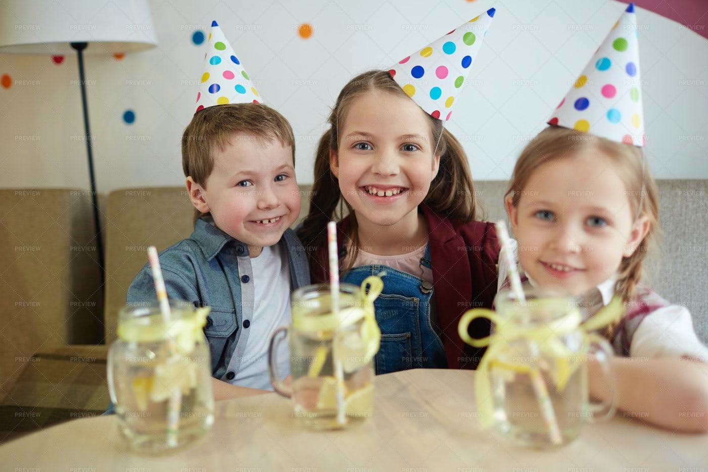 Gathering Of Kids: Stock Photos