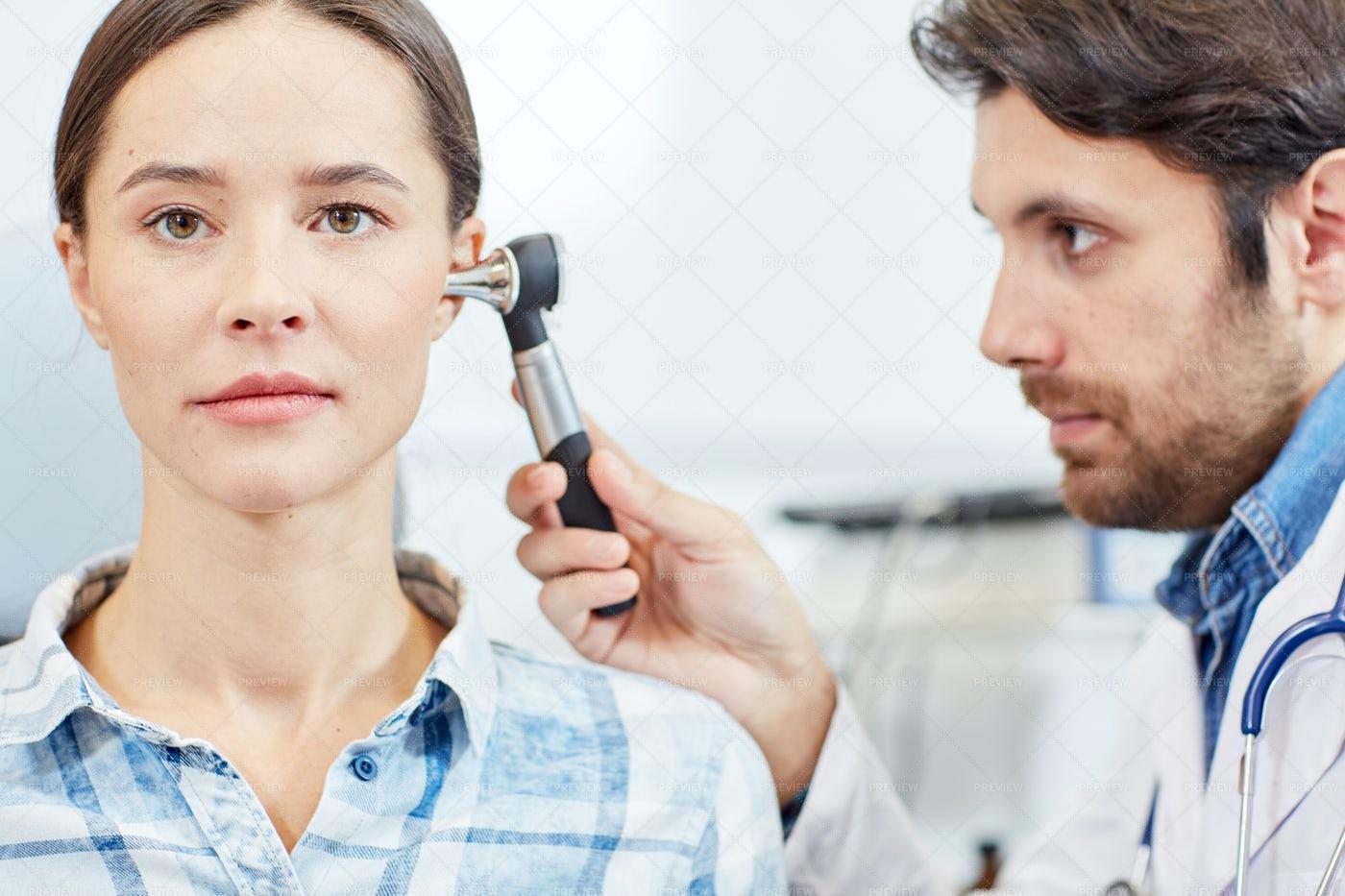 Ear Check-up: Stock Photos
