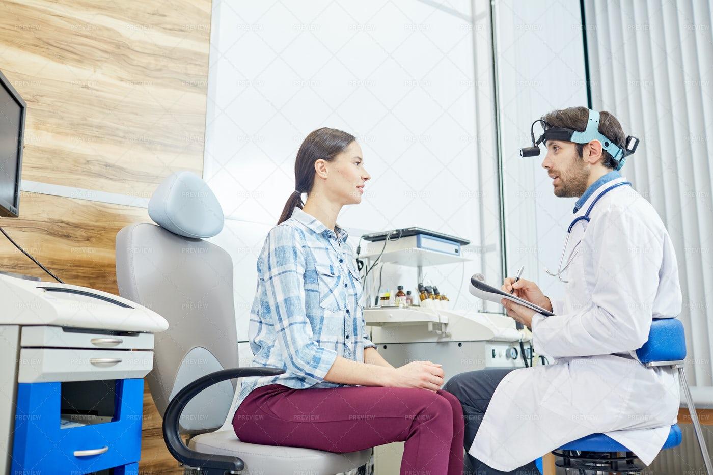 Ophtalmological Consultation: Stock Photos
