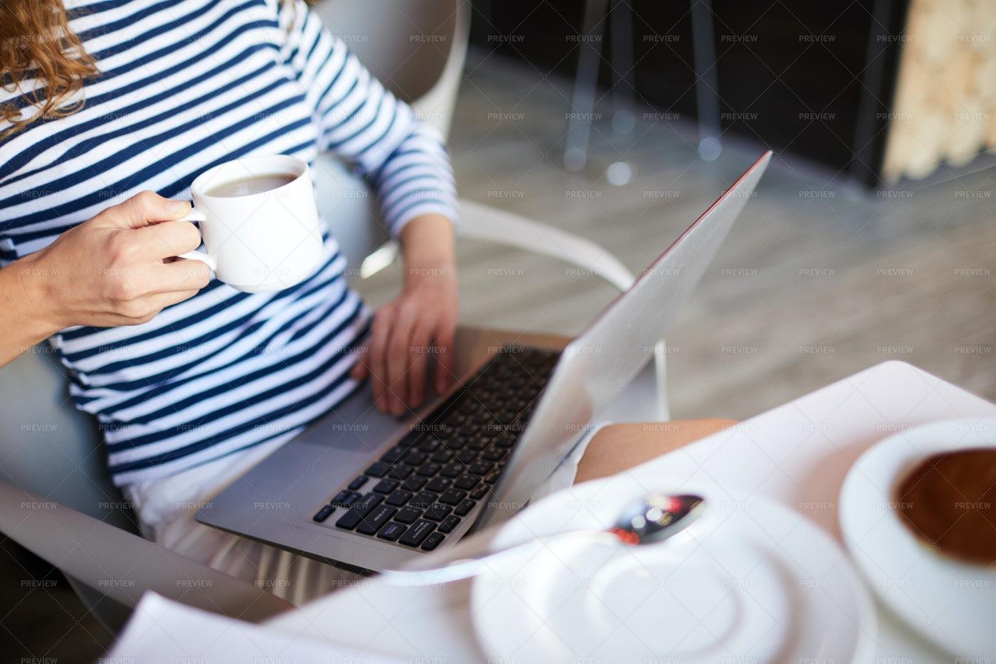 Using Laptop Everywhere: Stock Photos
