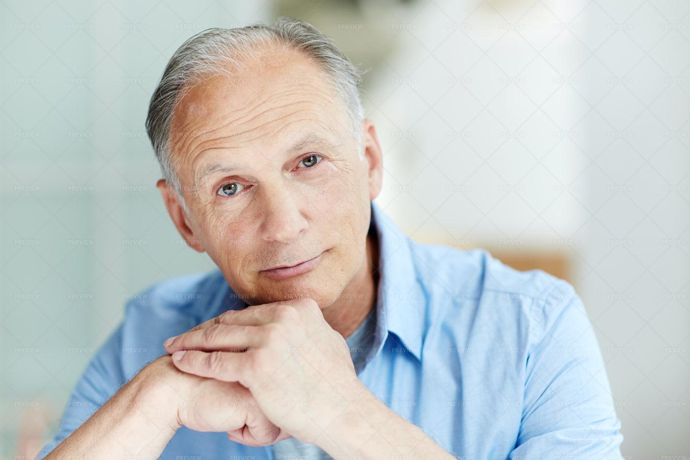 Male Pensioner: Stock Photos