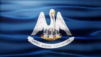 Louisiana Flag: Motion Graphics