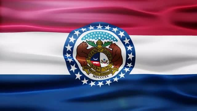 Missouri Flag: Stock Motion Graphics