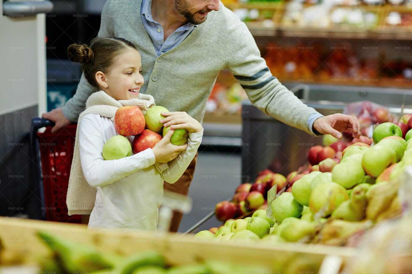 Buying Apples: Stock Photos