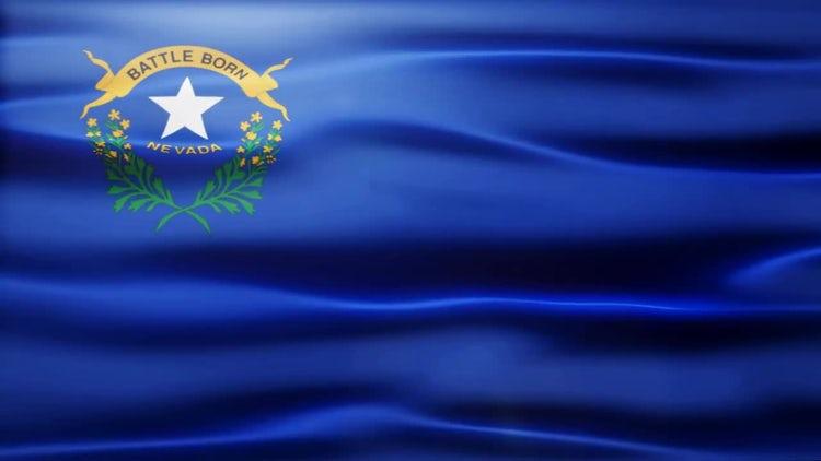 Nevada Flag: Stock Motion Graphics
