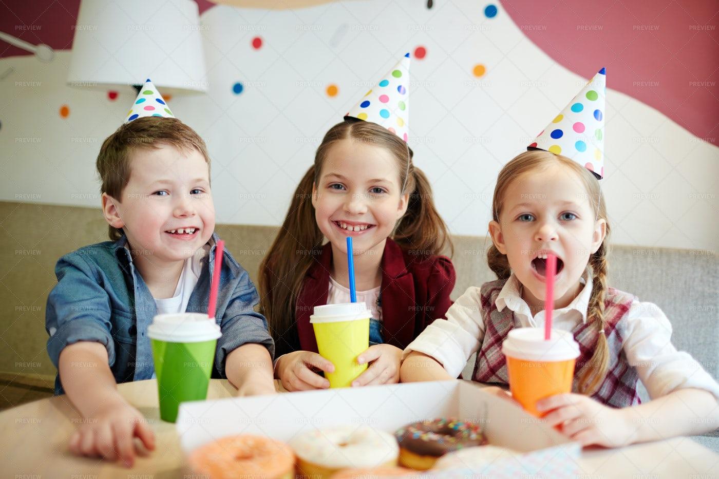 Enjoying Party: Stock Photos