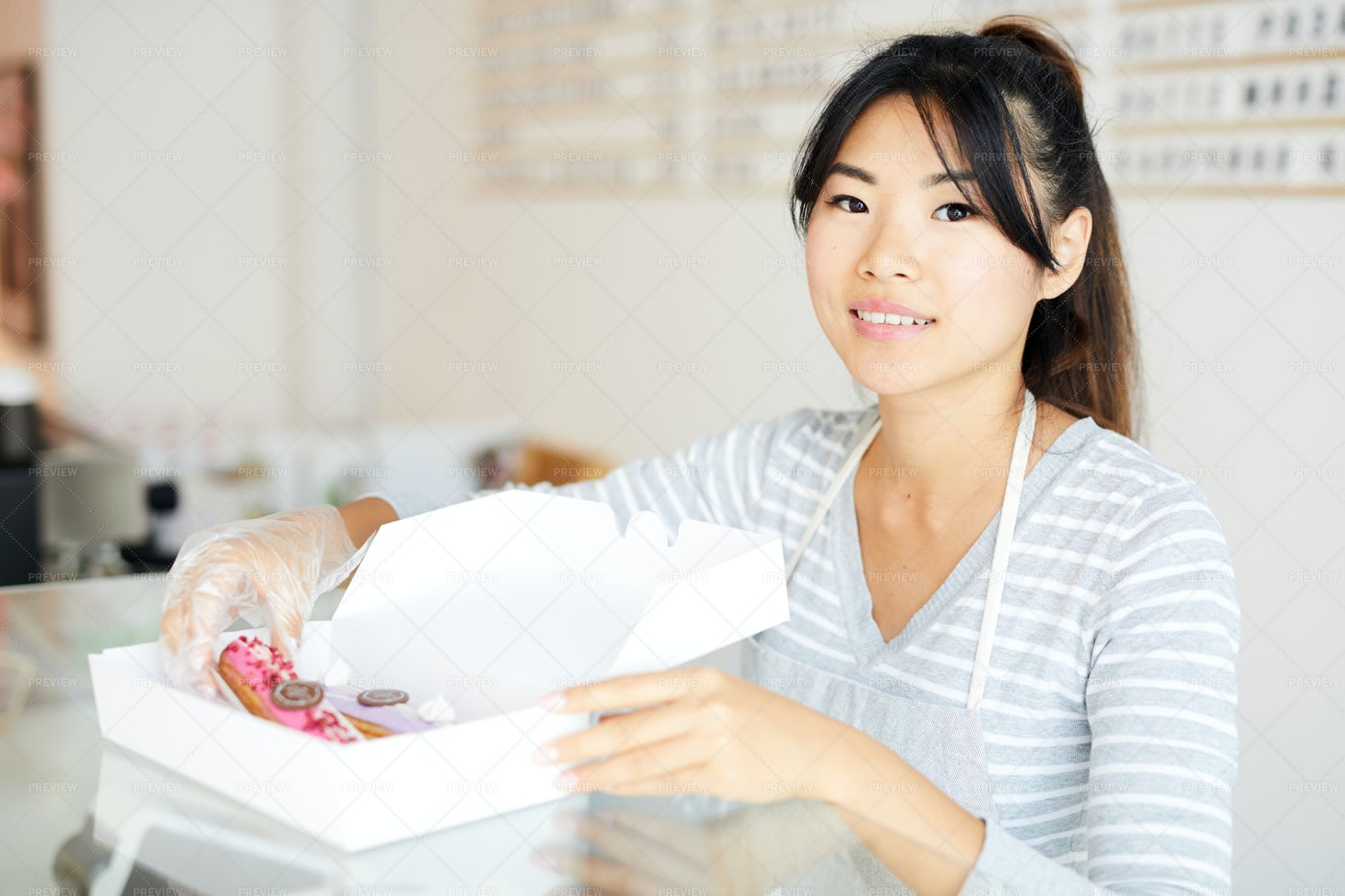 Cakes For Take Out: Stock Photos
