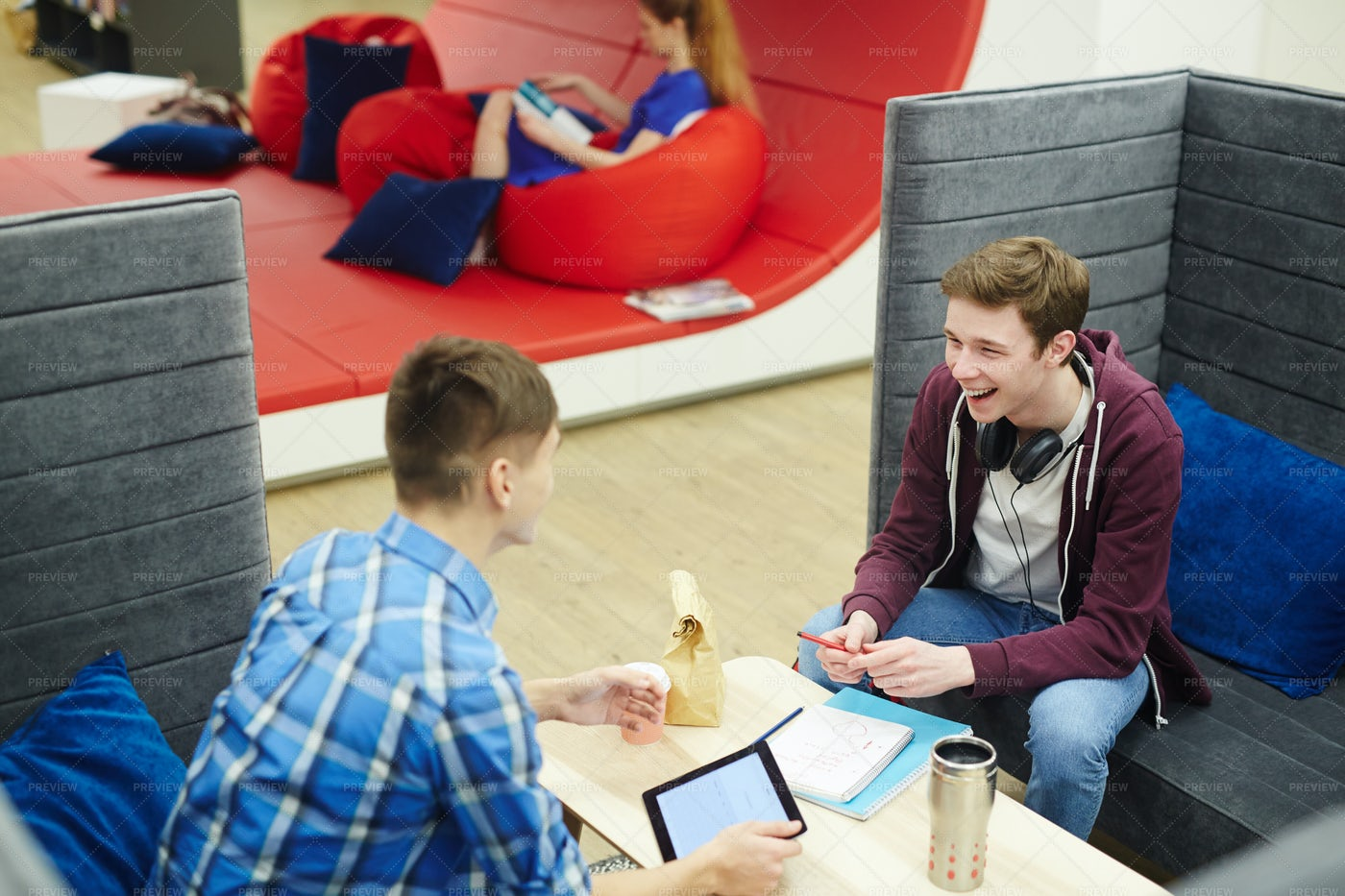 Students Talking: Stock Photos
