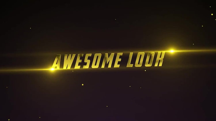 Epic Cinematic Titles: After Effects Templates