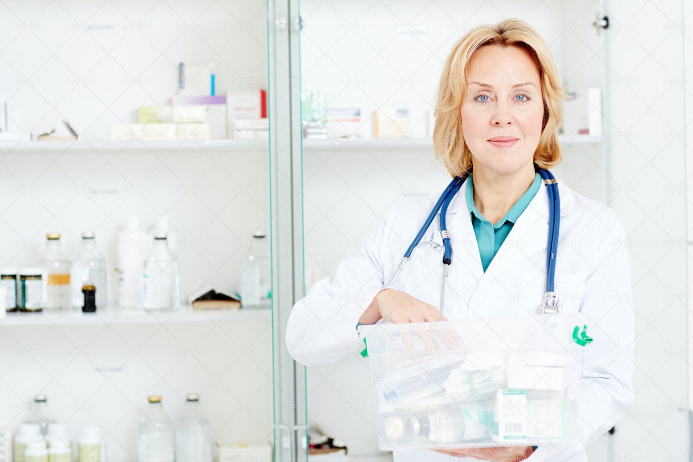 Pharmacist At Work: Stock Photos