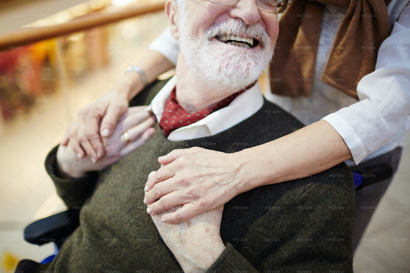 Giving Care: Stock Photos