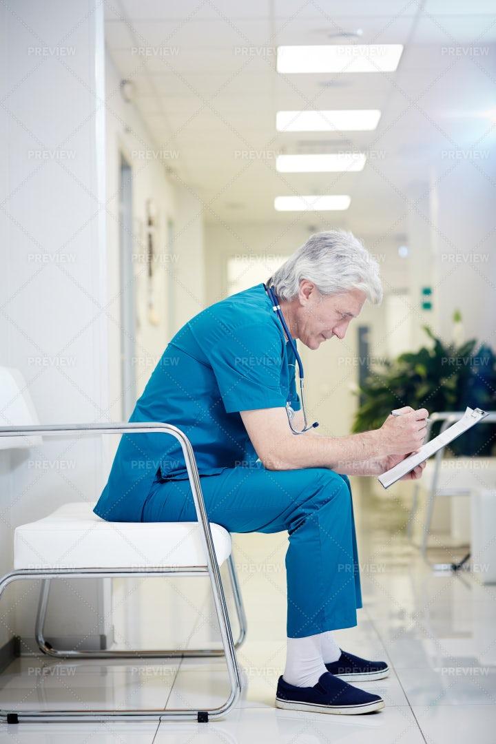 Nurse At The Hospital: Stock Photos