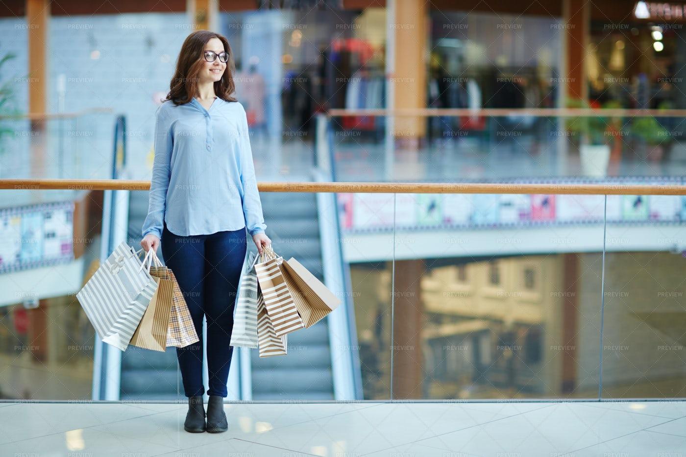 Female In Shopping Center: Stock Photos