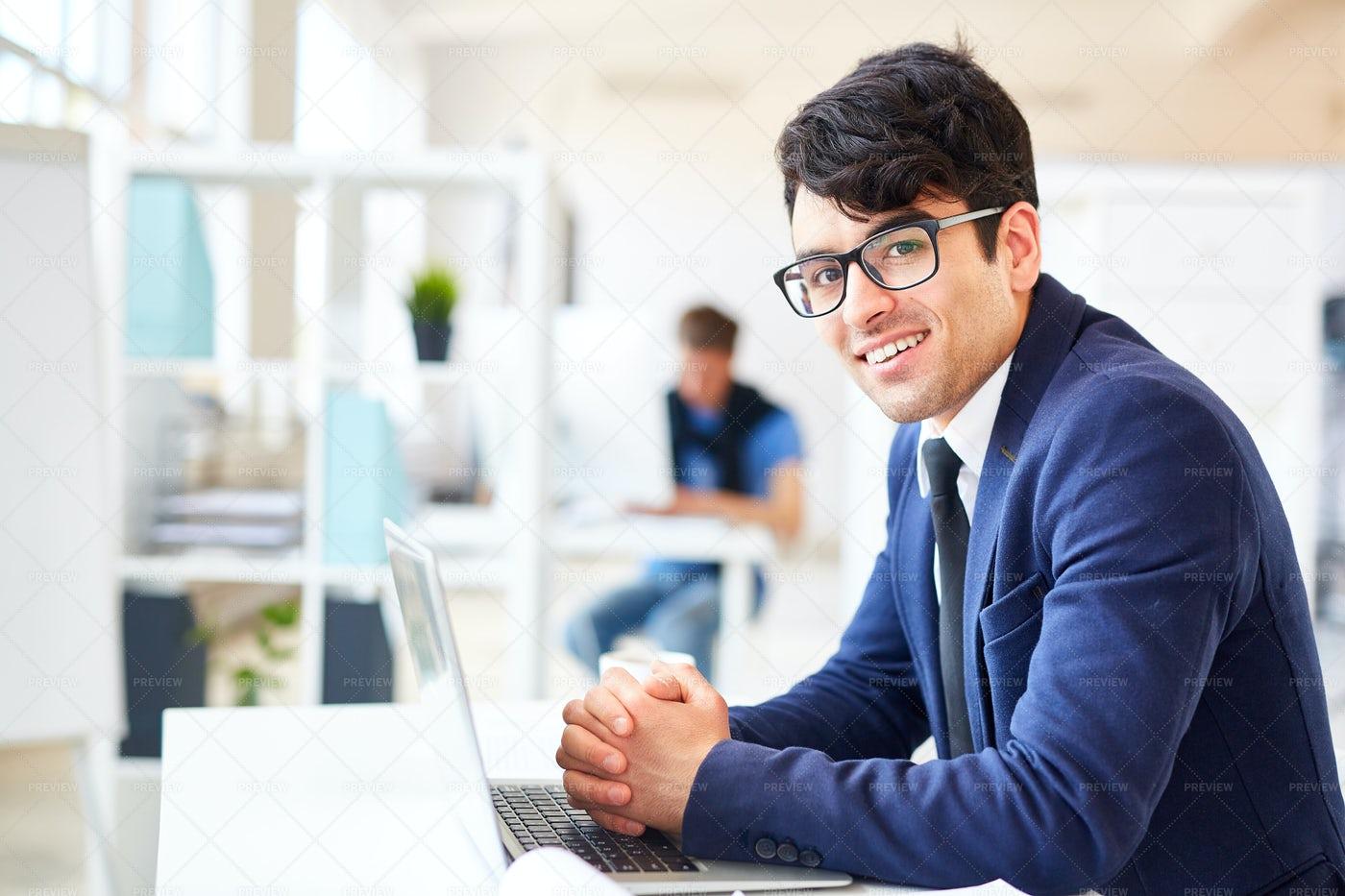 Successful Employee: Stock Photos