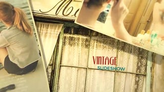 Vintage Slideshow: After Effects Templates