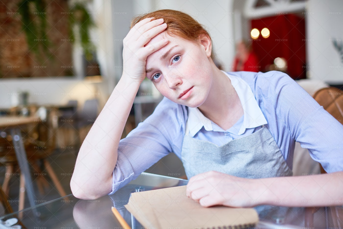 Exhausted After Work: Stock Photos