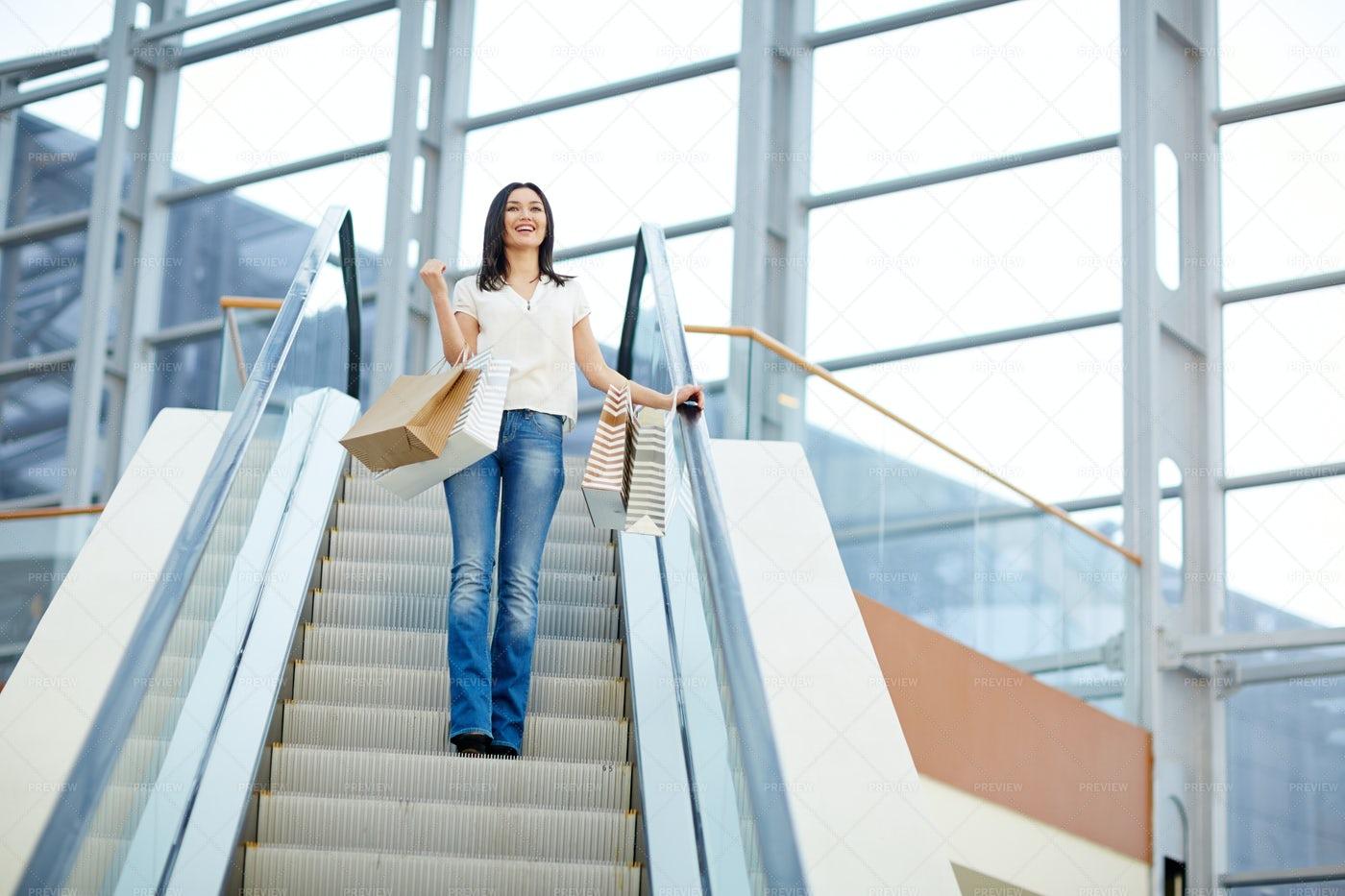 Leisure In Shopping-center: Stock Photos