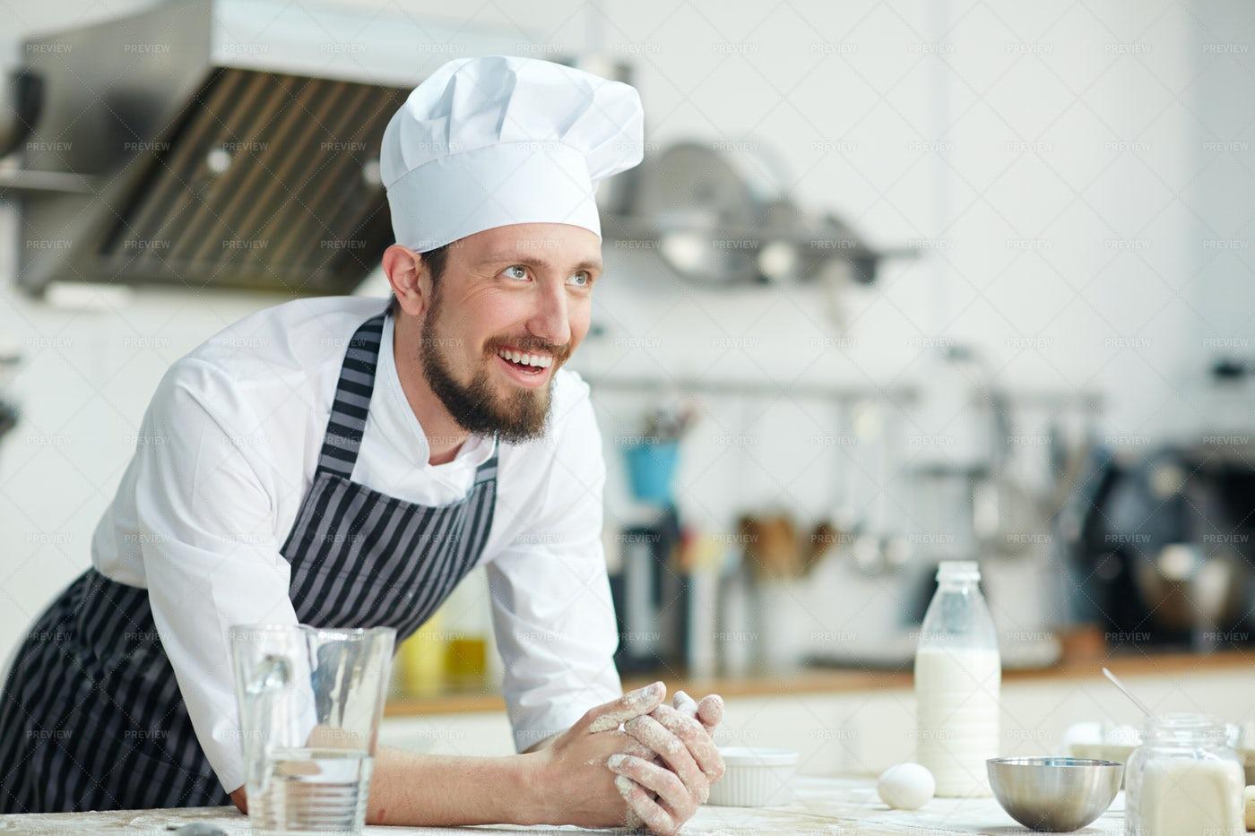 Master Of Bakery: Stock Photos