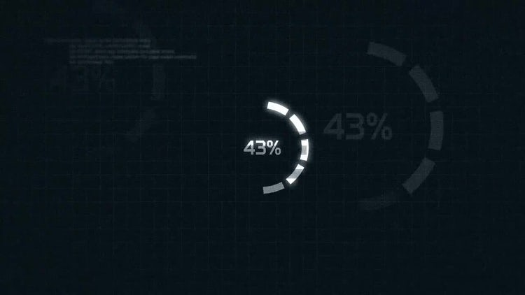 Loading Glitch Logo: After Effects Templates