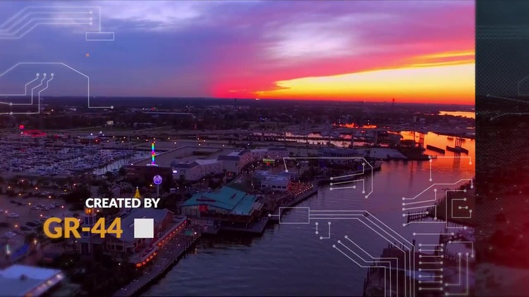 Urban Dynamic Slideshow: Premiere Pro Templates