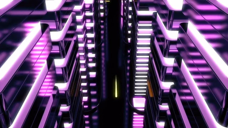 Neon City: Motion Graphics
