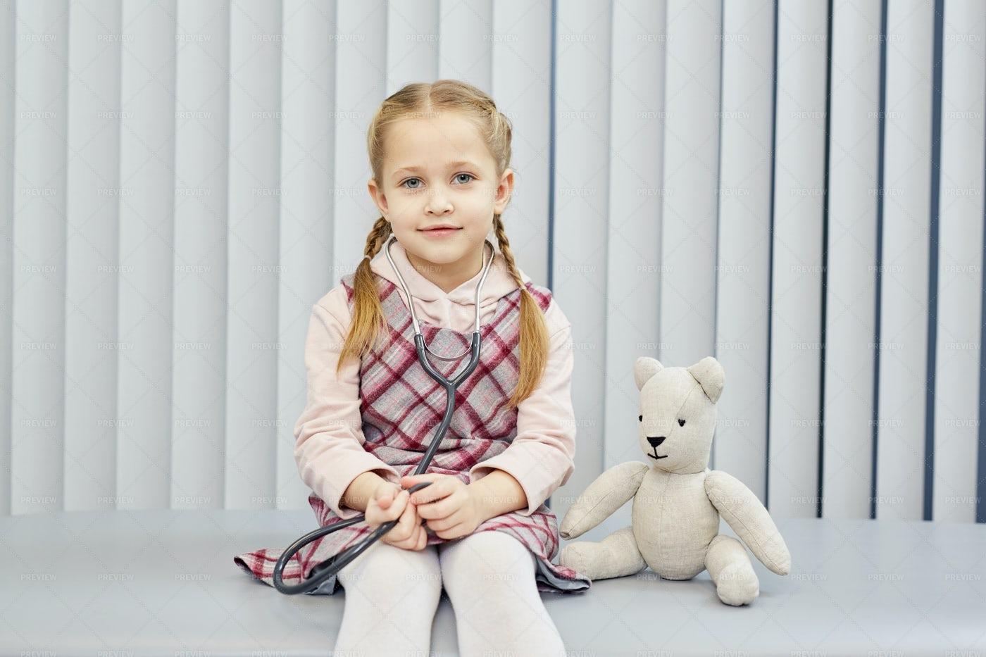 Little Patient: Stock Photos