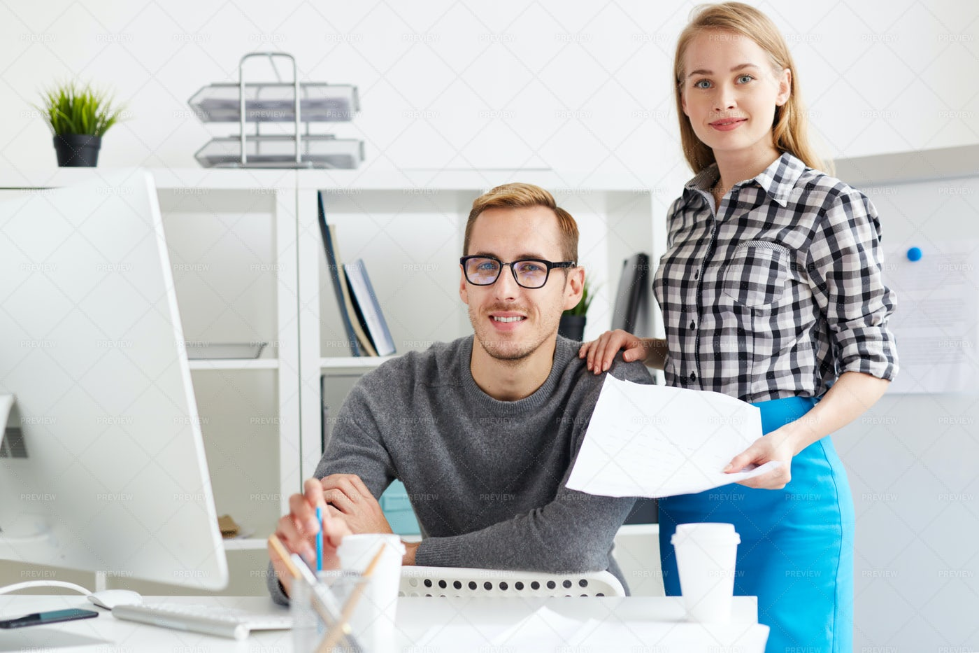 Young Managers: Stock Photos