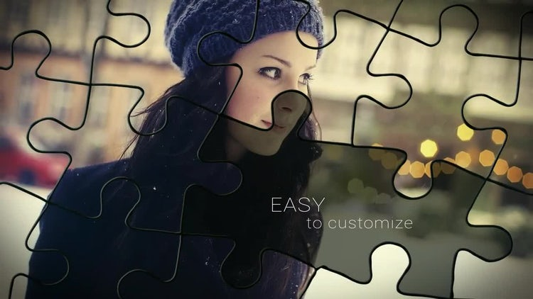 Puzzle Slideshow: After Effects Templates