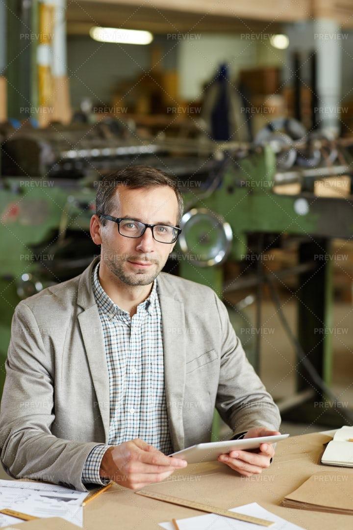 Factory Engineer: Stock Photos