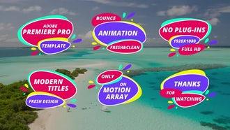 Summer Titles: Premiere Pro Templates