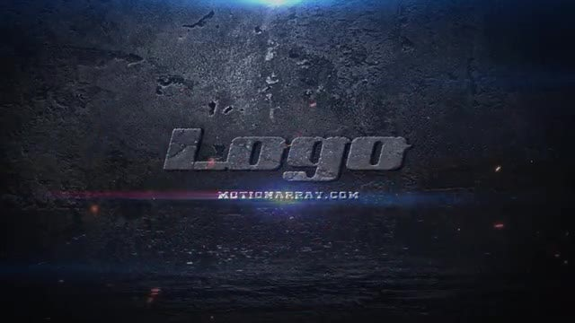 Destruction Logo: After Effects Templates