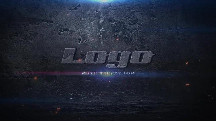 Destruction Logo: After Effects Templates