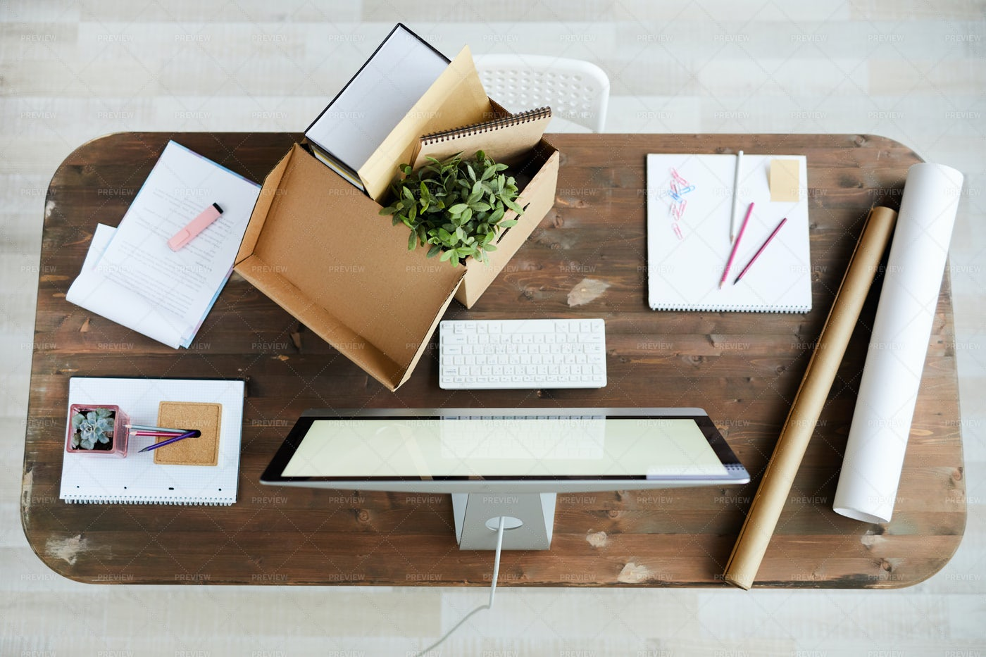 Workplace In Studio: Stock Photos