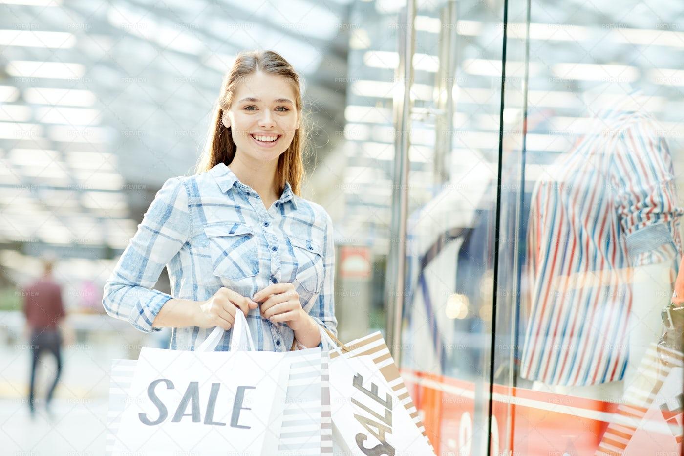 Young Shopaholic: Stock Photos
