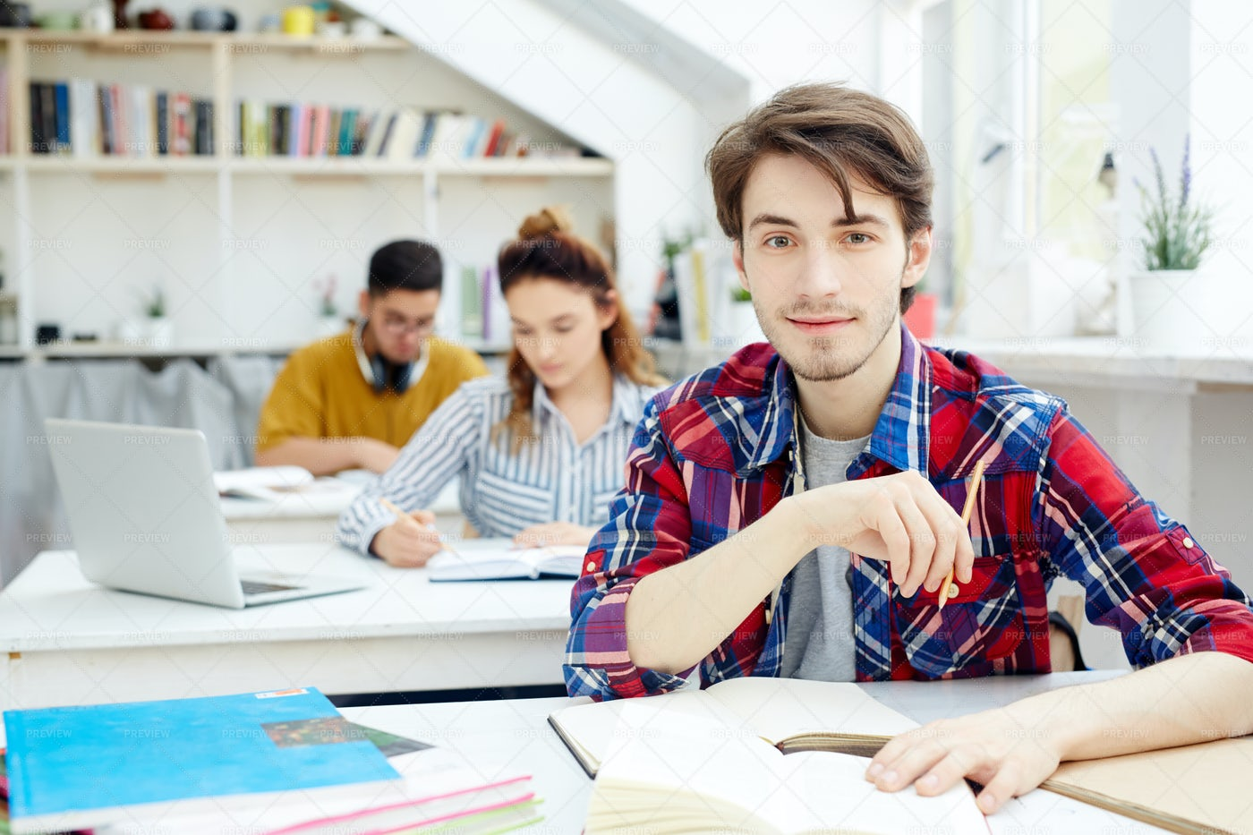 Diligent Student: Stock Photos