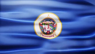 Minnesota Flag: Motion Graphics