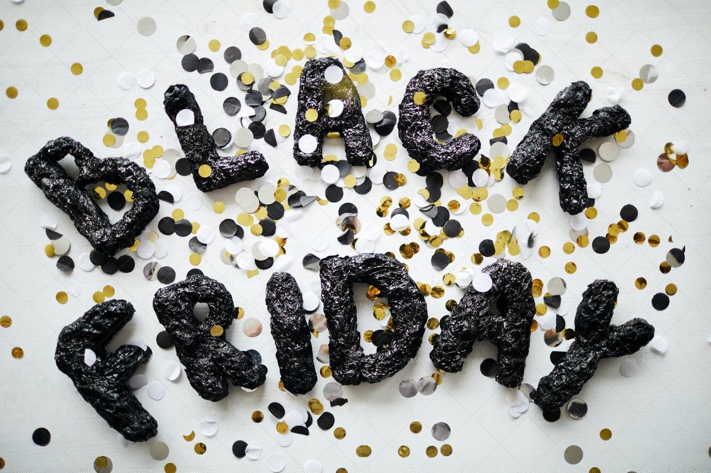 Black Friday Art: Stock Photos