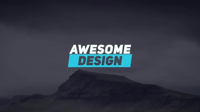 Creative Titles 4k: After Effects Templates