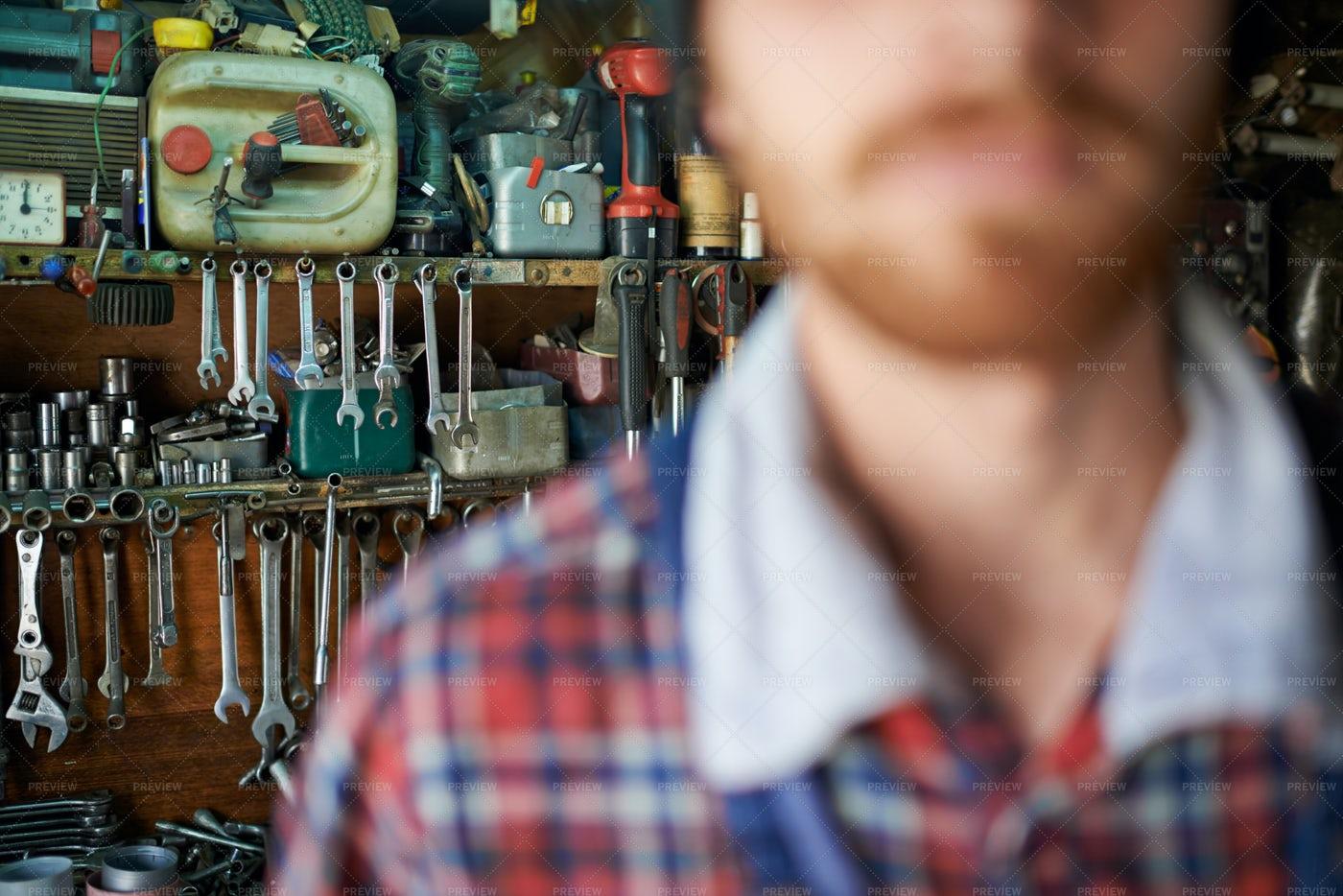 Auto Mechanic Job Concept: Stock Photos