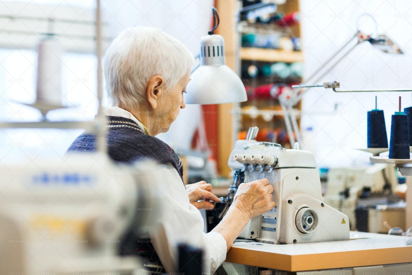 Sewing Clothes: Stock Photos