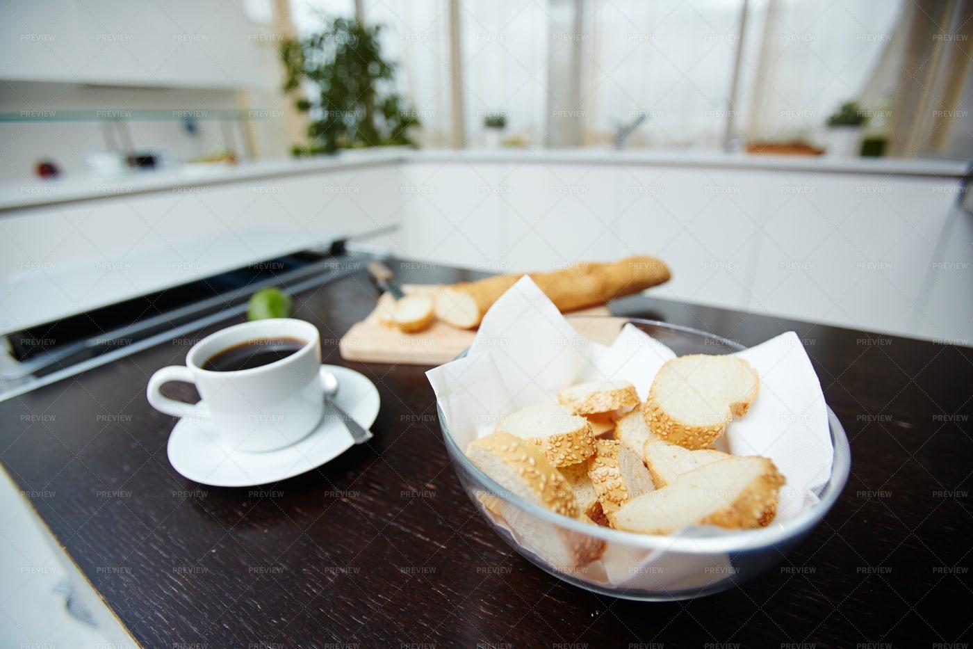Bread For Breakfast: Stock Photos