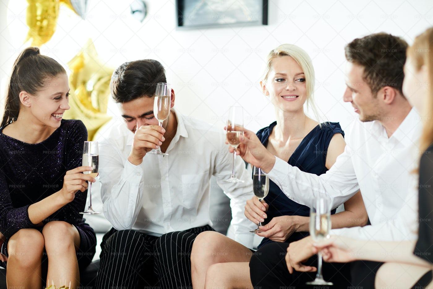 Having Fun At Party: Stock Photos