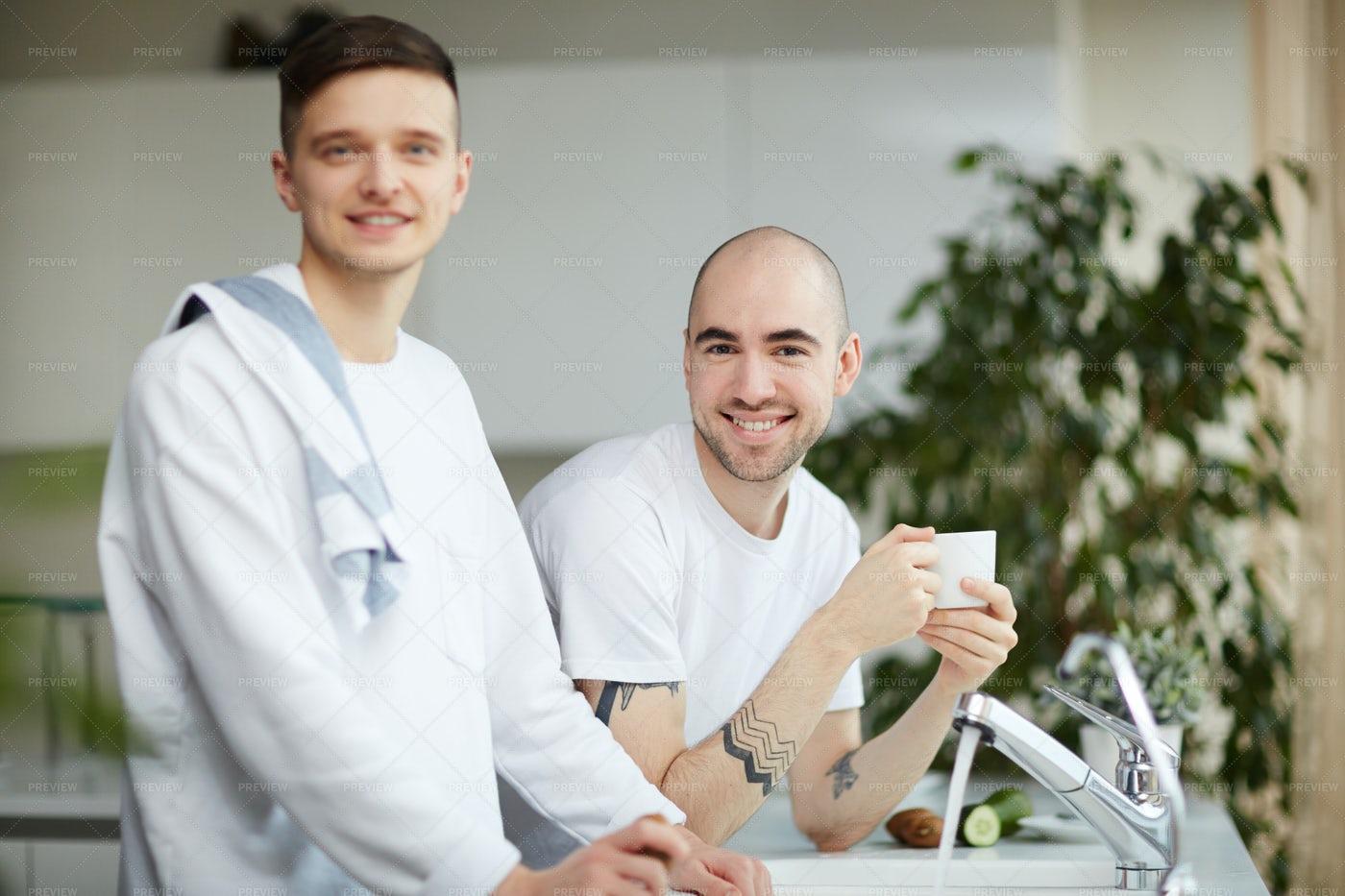 Homosexual Couple: Stock Photos