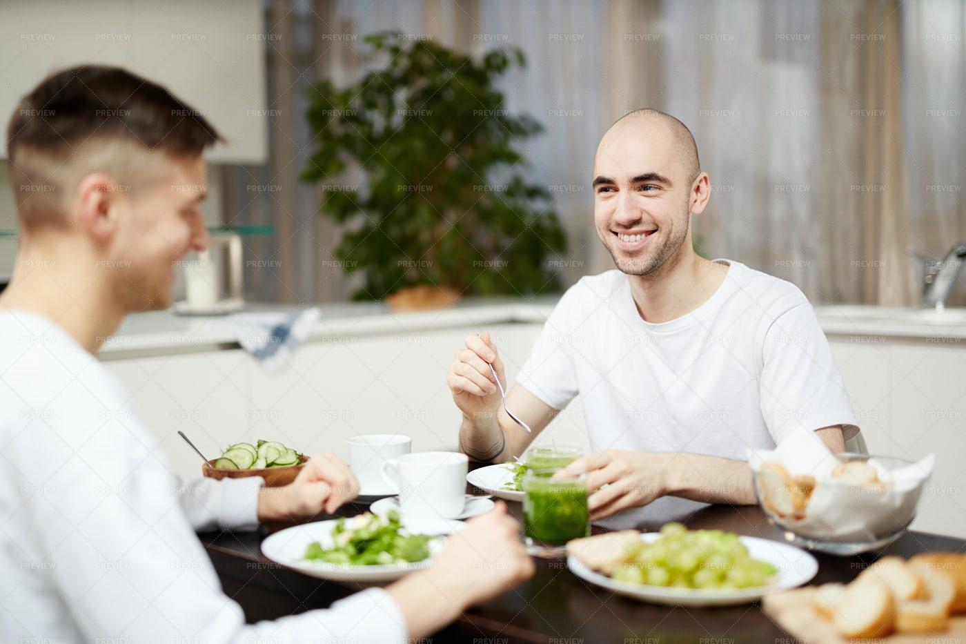 Breakfast Of Vegetarians: Stock Photos