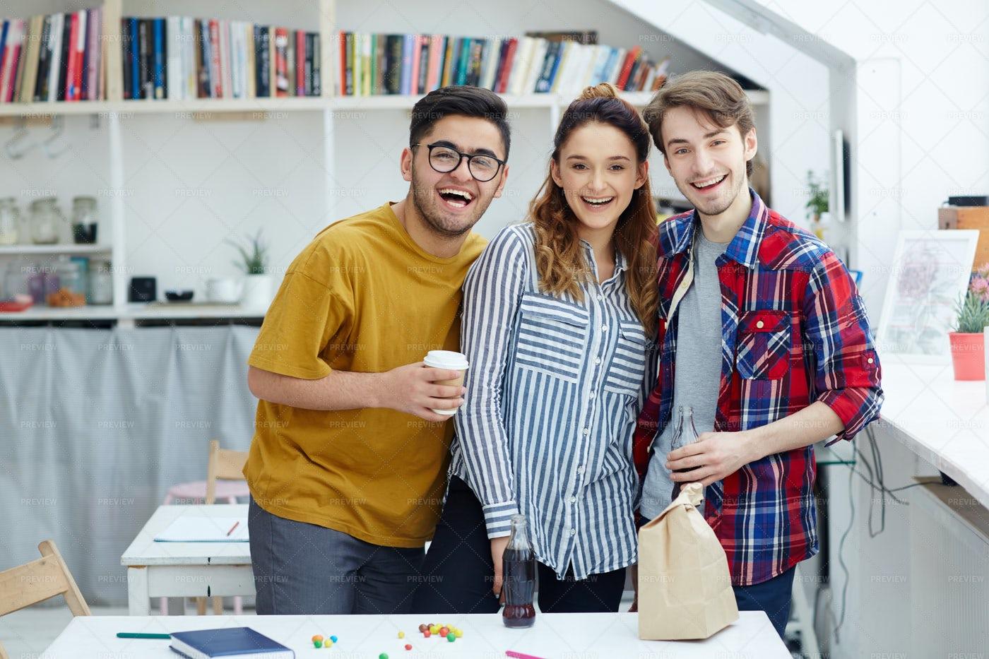 Joyful Teens: Stock Photos