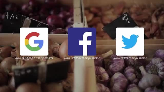 Animated Social Media Icons & Lower Thirds: After Effects Templates